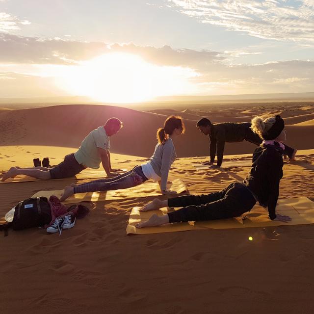 Yoga M.A.M.A. Deluxe (Luxury YOGA trip through Morocco)