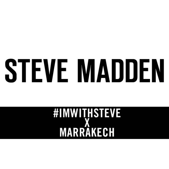 Steve Madden – #IAMWITHSTEVE